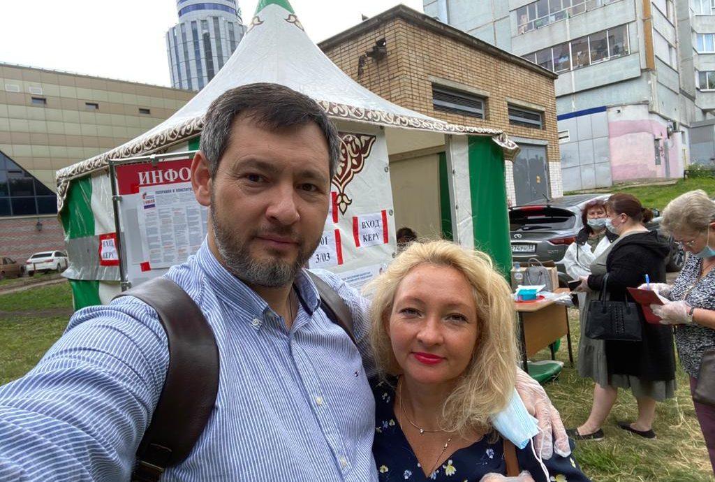 Лидер Партии Роста в Татарстане Олег Коробченко: «Пришел проголосовать, чтобы с предпринимателями считались»