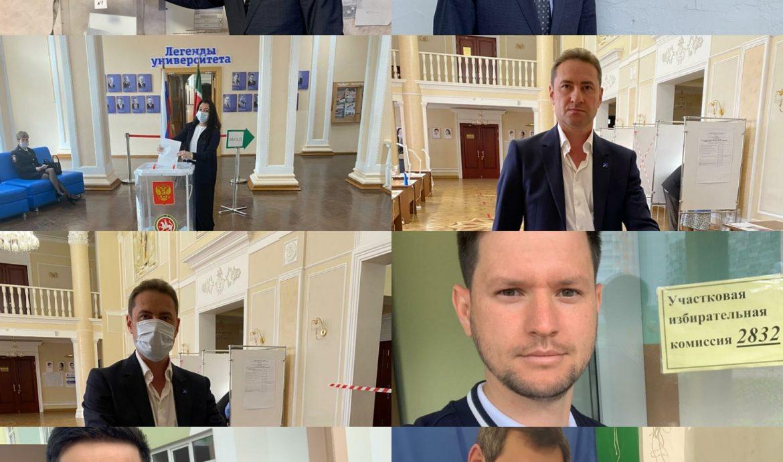 Активисты Партии Роста в Татарстане досрочно проголосовали по поправкам в Конституцию РФ