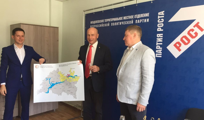 Валерий Чершинцев: «Желаю Партии Роста с другими депутатами как тройке лошадей вести район вперед»