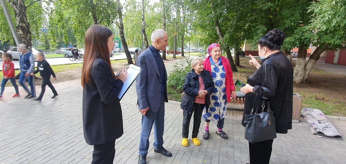 В Нижнекамске кандидаты в депутаты от Партии Роста составили топ проблем избирателей