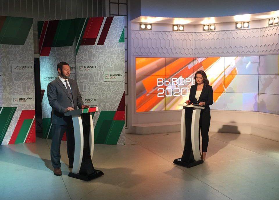 Кандидат на пост президента РТ Олег Коробченко выступил на телеканалах