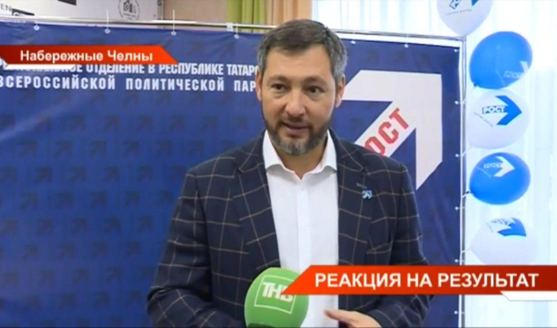 Лидер Партии Роста в Татарстане дал интервью ТНВ