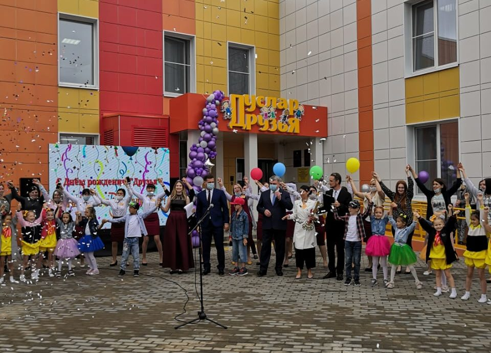 Компания «СтройТраст» Раиля Минегалиева построила детсад и открыла еще один после ремонта