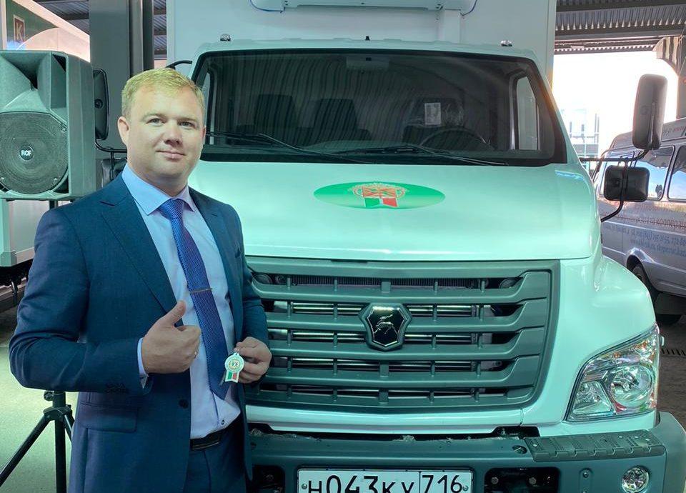 Потребкооператив «Нижнекамский» получил рефрижератор по программе субсидирования