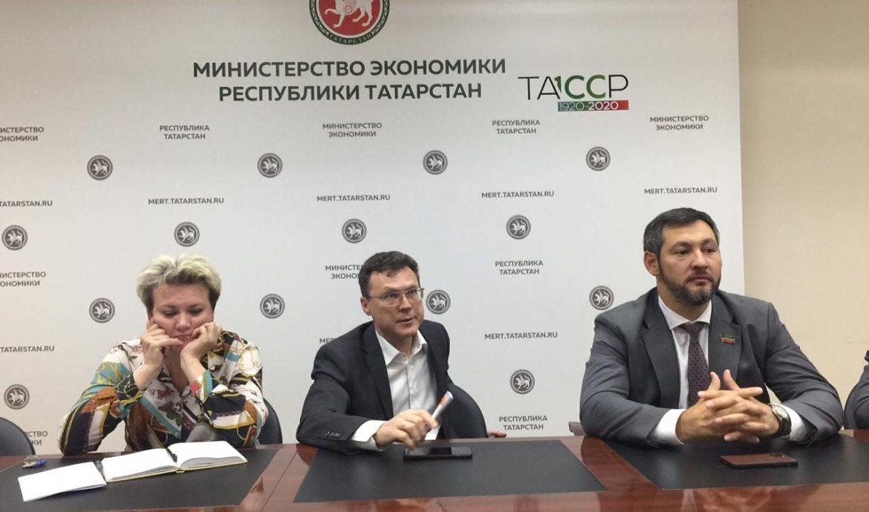 Олег Коробченко обсудил в министерстве экономики РТ программу Партии Роста «100 заводов»