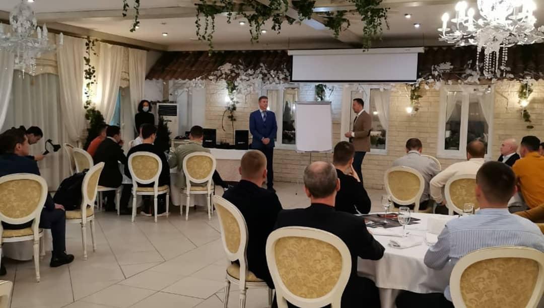 Член политсовета Партии Роста Владимир Малыгин стал гостем клуба «10 менторов»
